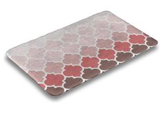Top surface of mat is a coral fleece, 100% microfiber polyester fabric. The entire surface is full-cushion memory foam, ensuring the ultimate in comfort. The underside of the mat features a non-skid SBR surface. Bring your brand, your message, your appreciation, direct into the home for all to enjoy. $31.99