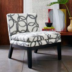 Slipper Chair - Prints | West Elm