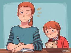 Aprende a manejar a tu niño cuando le da una pataleta vía es.wikihow.com