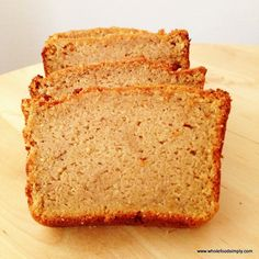 Paleo Sweet Potato Bread  #justeatrealfood #wholefoodsimply