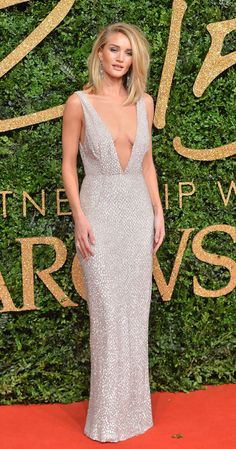 Rosie Huntington-Whiteley - British Fashion Awards 2015