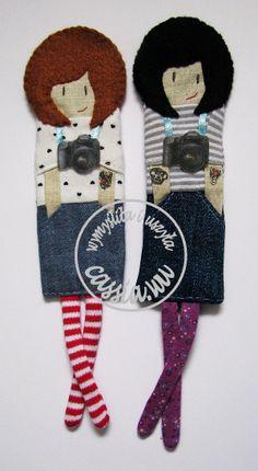 Girls- bookmark