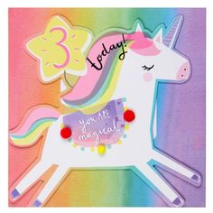 Buy Birthday cards for those milestone birthdays. From that special Birthday to and beyond. Explore the full range at Paperchase today Unicorn Birthday, 3rd Birthday, Birthday Cards, Birthday Ideas, Happy Birthday, Unicorn Illustration, Cute Illustration, Art Illustrations, Blue And White Pillows