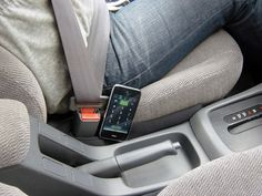 Drop Stop®..Love this product! Fits between your seats so you won't lose stuff down the crack.  as seen on shark tank