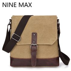 We love it and we know you also love it as well Canvas Retro Single Shoulder Bag Fashion Male  Patchwork Crossbody Bag  Casual Travel Message Bag High Quality Men Bags just only $15.88 with free shipping worldwide  #crossbodybagsformen Plese click on picture to see our special price for you