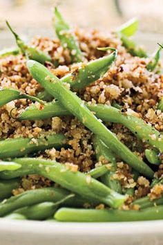 healthy thanksgiving green beans #YumHolidayRecipes