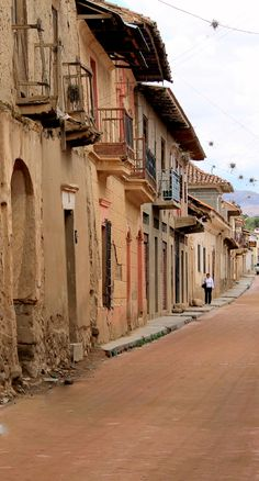 This is a street in Cochabamba, Bolivia, where I'm headed this fall to work with a Catholic organization that runs orphanages and schools for street kids.