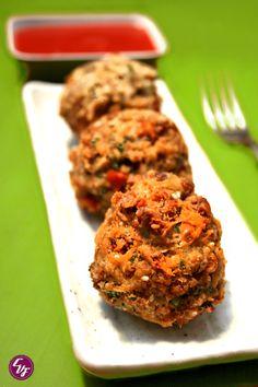 Croquetas de lentejas y nori   #Recetas de cocina   #Veganas - Vegetarianas ecoagricultor.com