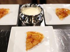 Tarte tatin med vaniljsås (kock Amir Kheirmand)