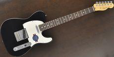 FENDER / American Standard Telecaster Black Guitar Free Shipping! δ