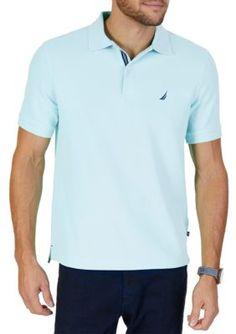 ff55d4dc667 Nautica Big   Tall Stretch Pique Polo Shirt