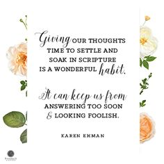 """Lord, I want to reflect Your love and grace each time I open my mouth to speak. Help me to slow my tongue before I say something hurtful that can have lasting consequences. And when I fall short, help me be quick to seek forgiveness and reconciliation. In Jesus' Name, Amen."" ~ Karen Ehman #KeepItShutBook Proverbs 31 Ministries"