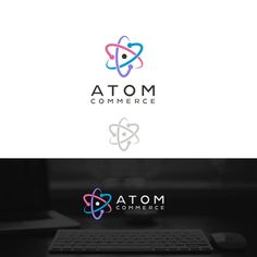 Modern logo inspired by the atom diagram by Prime pixel