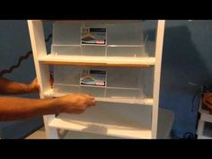 Tutorial for a Snake Rack but would be great concept for drawer style storage!!
