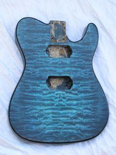 Custom Ocean Blue Tele