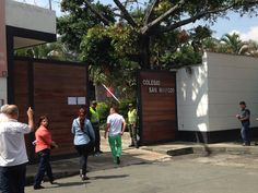 Orden en los puestos de votación y buena vigilancia en el Colegio San Marcos