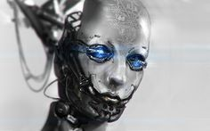 androids artwork cyborgs faces futuristic robots  Pictures and Images