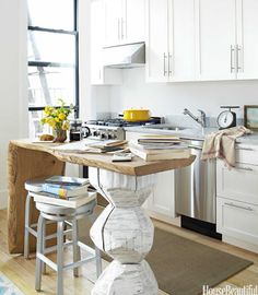 9 Flourishing Tips AND Tricks: Kitchen Remodel Cost Master Bath kitchen remodel on a budget inspiration.Small Kitchen Remodel Grey old kitchen remodel how to paint.U Shaped Kitchen Remodel Butcher Blocks. Small Space Kitchen, Kitchen Tops, Kitchen Decor, Kitchen Ideas, Kitchen Designs, Kitchen Inspiration, Small Spaces, Kitchen White, Cheap Kitchen
