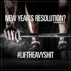 New year's resolution? One..LIFT HEAVY SHIT. The only thing that really matters is to get in the gym and LIFT! Fitness Motivation, Fitness Quotes, Motivation Inspiration, Fitness Inspiration, Best Gym Quotes, Train Like A Beast, Gymaholic, Fit Board Workouts, Lift Heavy