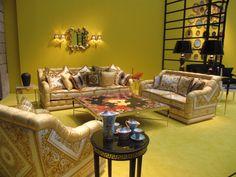 Milan Furniture Fair: Versace Home Collection | Milan Furniture Fair: Versace  Home Collection