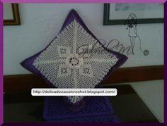 Delicadezas en crochet Gabriela: Cojines tejidos en ganchillo