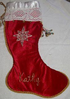Kathy's Quilting Corner: Christmas Stockings
