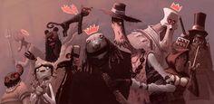 Incríveis ilustrações de Arthur MaskZupi