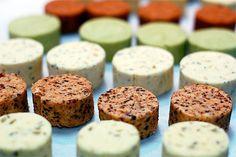 5 Compound Butter Recipes - Tarragon-Lemon, Garlic-Chive, Maitre-d-Hotel, Cajun, Chipotle-Habanero