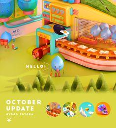 https://www.behance.net/gallery/20756593/October-Update