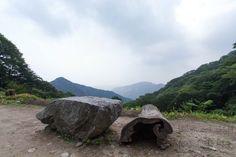 Hiking in Gyeryongsan National Park in South Korea