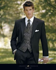 I know a fella who would look very charming in this tuxedo. On a cold December night a few years down the road :)