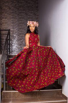 Kessie African maxi dress African dress, ankara, kitenge, kente, Ghanaian fashion, Nigerian fashion, Ghanaian women, African clothing, ankara dress, kente, ankara gown