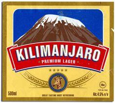 "Kilimanjaro Lager ""If you can't climb it, drink it. Kenya, Popular Beers, Beer Label Design, Beers Of The World, Beer Coasters, Kilimanjaro, Refreshing Drinks, Vintage Advertisements, Craft Beer"