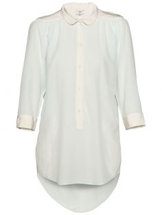 Wilfred Giulia Blouse @ Aritzia on sale for <$135. Have it in the cornflower blue already and LOVE it--wear, wash in sink, and love forever.