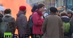 Протести у Бриселу против Европске уније - http://video.vaseljenska.com/protesti-u-briselu-protiv-evropske-unije/