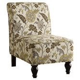 Elevate your home's interior with the Monarch Specialties Fabric Accent Chair. Featuring a wide spacious seat and back with turn-post front legs, this chic chair will make a beautiful addition to your living room, bedroom, den, or home office. Floral Accent Chair, Accent Chairs, Floral Chair, Tufted Chair, Chair Slipcovers, Recliner Chairs, Armless Chair, Chair Cushions, Cozy Chair