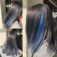 #coiffurecitylangenthal #coiffure #haircolor #bluehair #bluemeches #crazycolor  @rebeccavonallmen Crazy Colour, Haircolor, Make Up, Hair Styles, Beauty, Hairstyle, Blue Hair, Hair Color, Hair Plait Styles