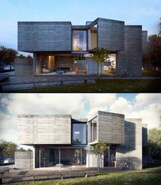 CGarchitect - Professional 3D Architectural Visualization User Community | Itatiba House | poster