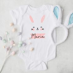 Produkte Archiv - Herzpost Baby Party, Personalized Baby, Baby Bodysuit, Little Ones, Poster, Bunny, Pure Products, Bodysuits, Easter Eggs