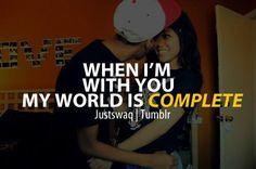 My world.. only U