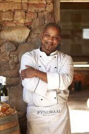 Shaun Schoeman is the Fyndraai Restaurant chef at Solms-Delta Wine Estate in Franschhoek, the culinary capital of the Wine Route in South Africa Languages Of South Africa, Nigella Lawson, Executive Chef, Chef Jackets, Restaurant, Chefs, Turning, Cape, Corner