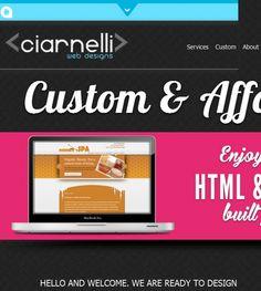 Ciarnelli Web Designs located at Sacramento CA 95822 in Sacramento,CA offers Web Design, Graphic Design.