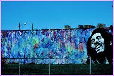 *Bob Marley* Miami, FL, USA. More fantastic streetart, pictures and videos of *Bob Marley* on: https://de.pinterest.com/ReggaeHeart/ ©Rokkor Fella/ www.flickr.com/photos/46724410@N07 / ©Wynwood Street Art/ thewynwoodwalls.com