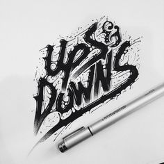 Artistic hand-lettering by Raul Alejandro