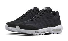 41159855a1c Stüssy Nike Air Max 95 Black Sneakers