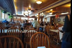 And don't be intimidated if there's a small wait. We promise the food (and service) here is absolutely worth every second of anticipation. North Carolina Lakes, All You Can, Places To Go, Restaurant, Food, Home Decor, Decoration Home, Room Decor, Diner Restaurant