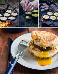 Campfire Breakfast Burgers | 19 Easy Breakfasts For Your Next Camping Trip