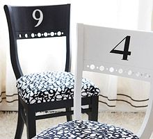 Jazz Up Old Dining Chairs