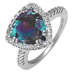 alexandrite - unique engagement ring. Dear future husband this is my birthstone. Yay!!
