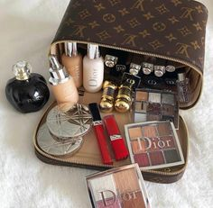 Discovered by Pleasing TT Eye. Find images and videos about makeup, make up and dior on We Heart It - the app to get lost in what you love. Dior Makeup, Makeup Box, Makeup Storage, Skin Makeup, Makeup Inspo, Makeup Cosmetics, Beauty Makeup, Makeup Geek, Makeup Collection Storage